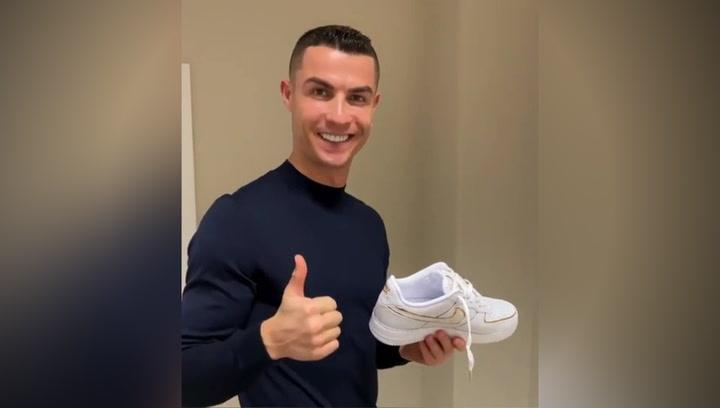 Cristiano diseña sus propias zapatillas junto a Nike