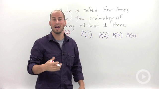 Using the Complement to Calculate Probability