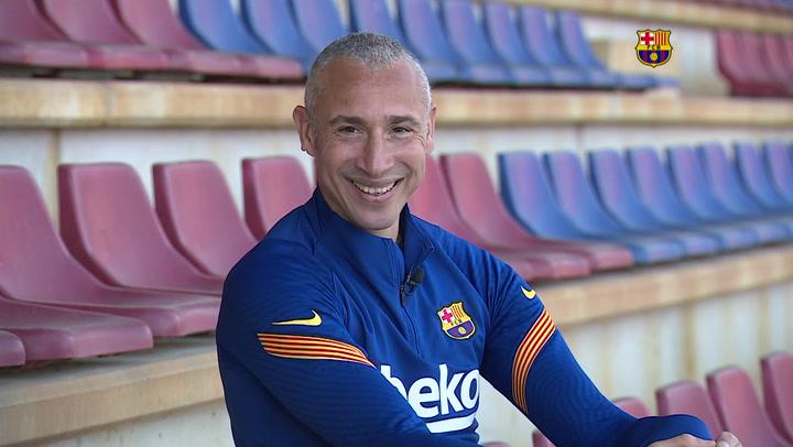 """Larsson: """"A los jugadores les gusta el camino por el que vamos"""""""
