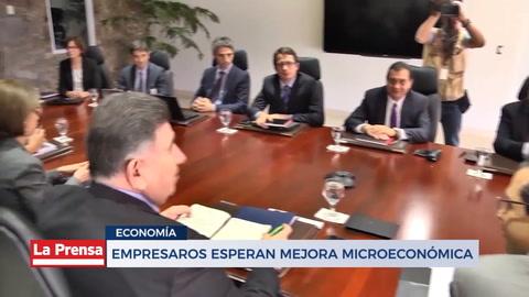 Empresarios esperan mejora microeconómica