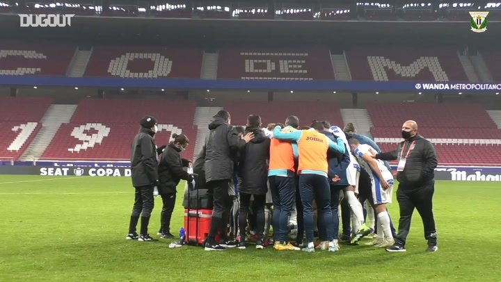 Behind the scenes: CD Leganés's extra time against Sevilla