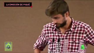 Gerard Piqué rompe en llanto en un evento al hablar de sus padres