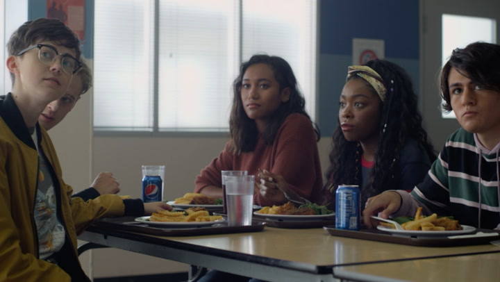 'There's Someone Inside Your House' Clip: Lunchroom Debate