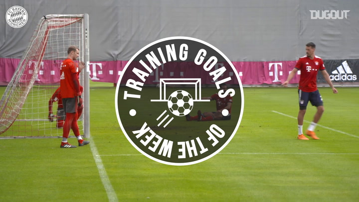 FC Bayern's Training Goals Of The Year #4
