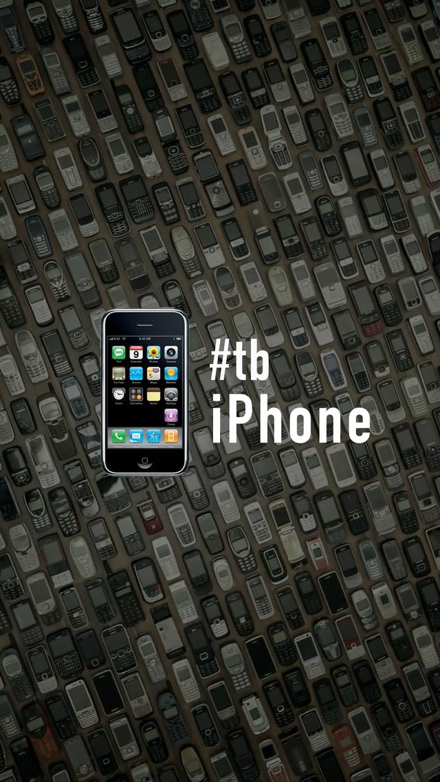 iPhone'un doğum günü