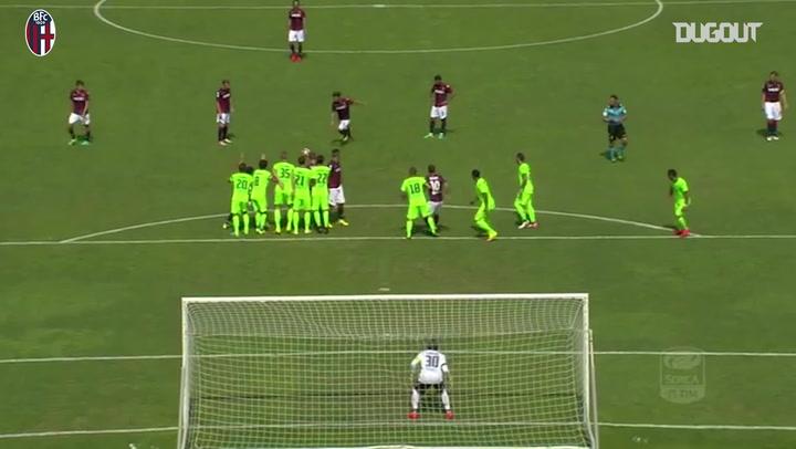 Simone Verdi's free-kick vs Cagliari