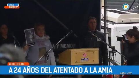 A 24 años del ataque, recuerdan a las víctimas del atentado a la Amia