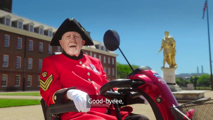 The Chelsea Pensioners advise to 'push off politely' in fraud awareness campaign