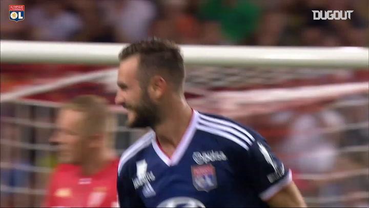 Olympique Lyonnais' top five 2019-20 season goals so far