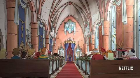 El autor de Los Simpson presenta en sociedad a  su princesa rebelde