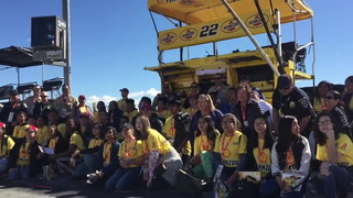 Las Vegas students treated to NASCAR experience