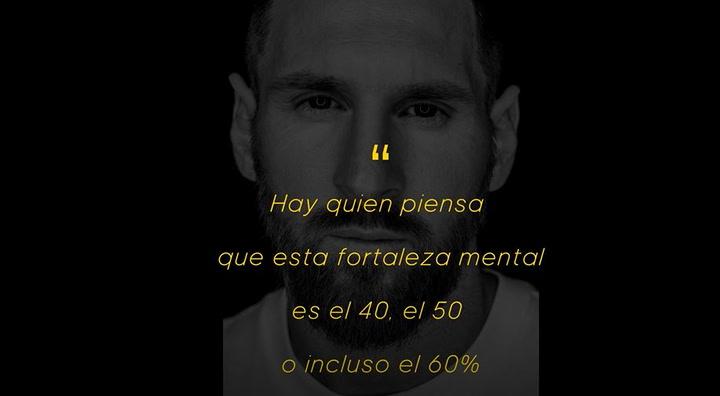 Leo Messi protagonista del Mindfulness de Adidas