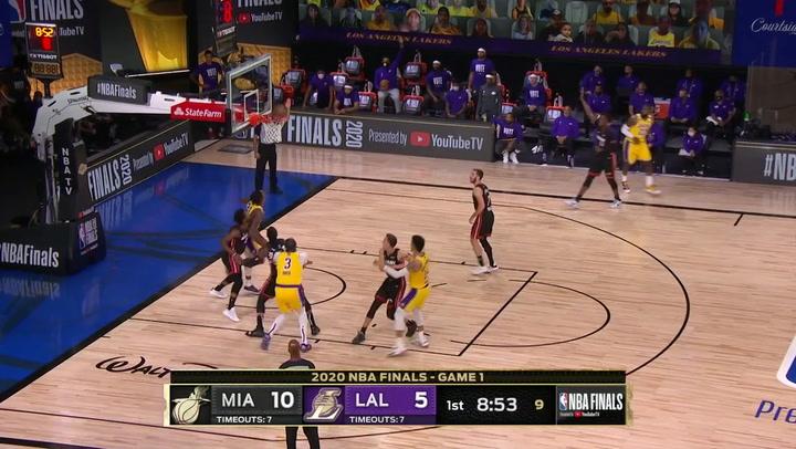 Las 5 mejores jugadas de la jornada de la NBA el 30 de septiembre de 2020