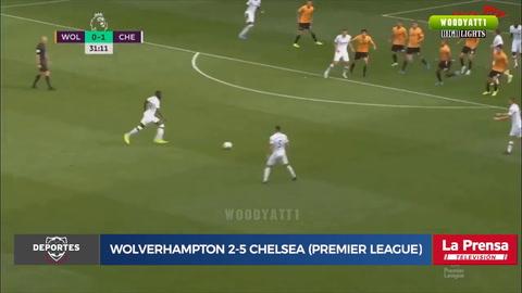 Wolverhampton 2-5 Chelsea (Premier League)