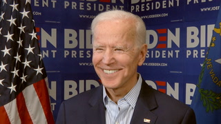 Former Vice President Joe Biden campaigns in Nevada