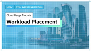 Chapter 1: Workload Placement