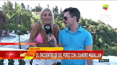 Sol Pérez negó el romance con Magallán
