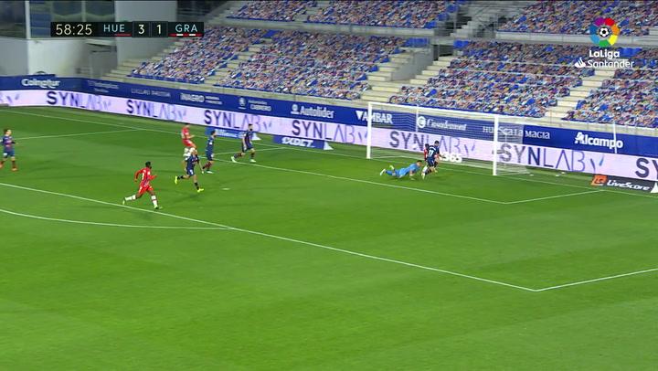 Gol deAlberto Soro (3-2) en el Huesca 3-2 Granada