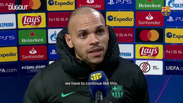 Martin Braithwaite: 'We have to continue like this'
