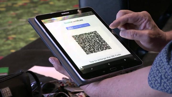 Así es el Certificado digital verde de la UE