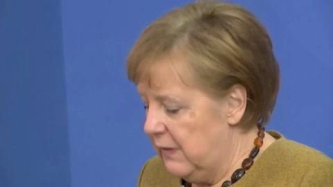 Merkel impone su línea estricta frente a las regiones en la lucha anticovid en Alemania