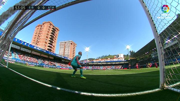 LaLiga: Eibar - Atlético Madrid. Recital de paradas de Dmitrović
