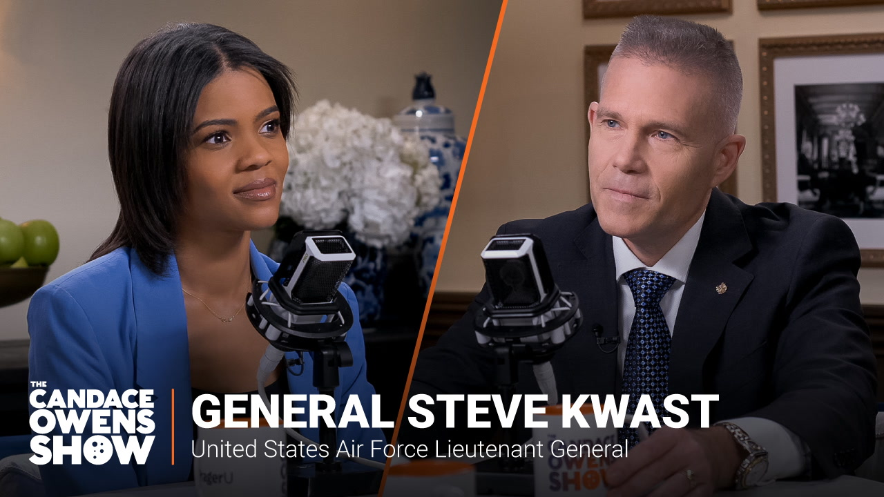 The Candace Owens Show: General Steve Kwast