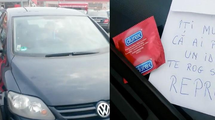 Frustrert bilist la igjen syrlig gave etter idiot-parkering