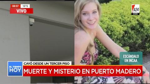 Investigan la muerte de una modelo que cayó de un tercer piso en Puerto Madero