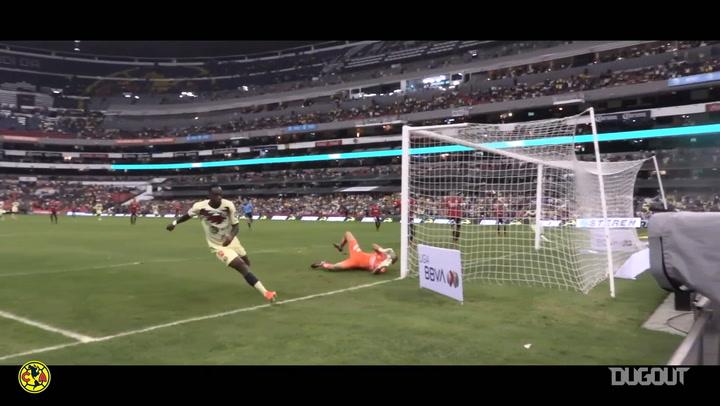 Giovani dos Santos's great debut at the Estadio Azteca