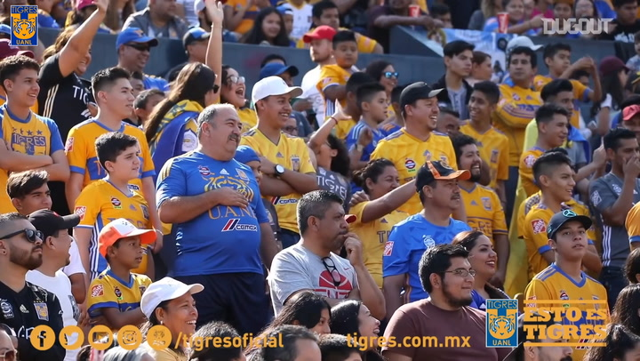 When 27,000 Tigres fans turned up to a training session