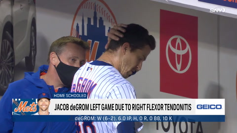Jacob deGrom downplays latest injury, but how concerned should Mets be about their ace?