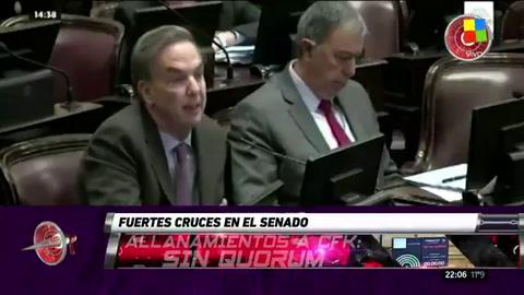 Por falta de quórum, el Senado no trató el pedido de allanamiento a CFK