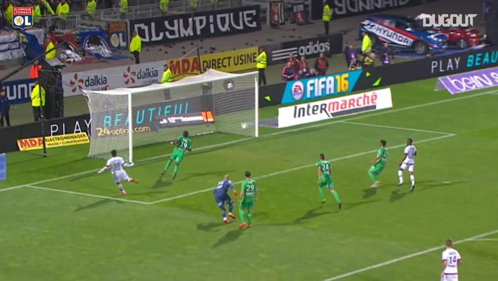 Lacazette's hat-trick wins Derby Rhône-Alpes