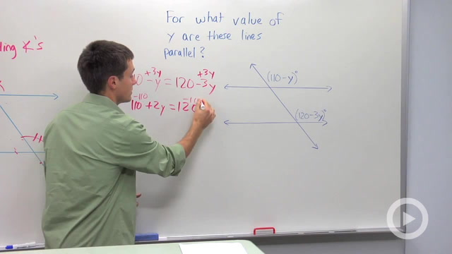 Converse of Parallel Lines Theorem - Problem 2