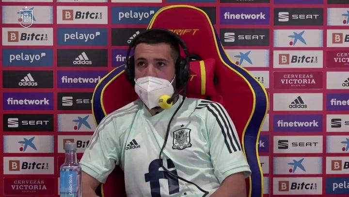 "Jordi Alba: ""Regalar a Luis Suárez fue de chiste"""