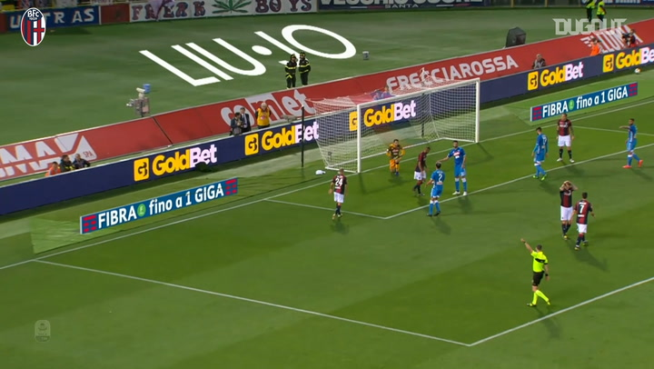 Bologna earn late win over Napoli