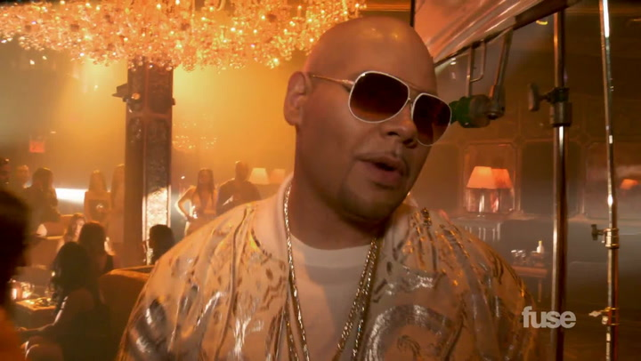 "Fat Joe Takes You Behind the Scenes of ""Stressin'"" Video With Jennifer Lopez"