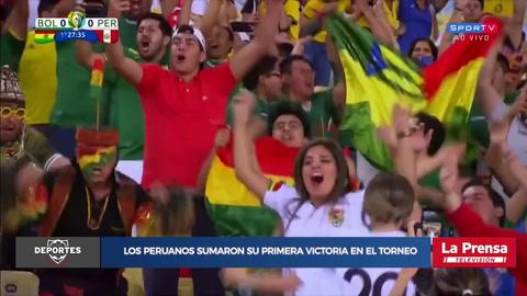 Bolivia 1-3 Perú (Copa América)