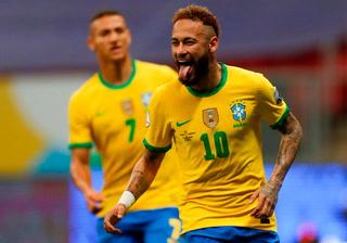 Baile y goleada de la selección de Brasil a Venezuela en su estreno en la Copa América
