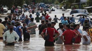 Se reporta nuevamente el desbordamiento del río Chamelecón en la Costa Norte tras Eta e Iota