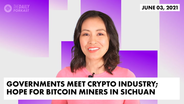 Governments Meet Crypto Industry; Hope for Bitcoin Miners in Sichuan