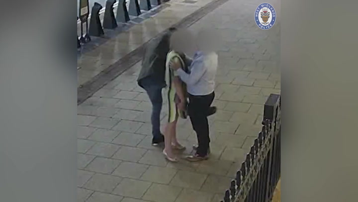 Man 'grinds on woman's leg' as he steals her £9,000 Rolex