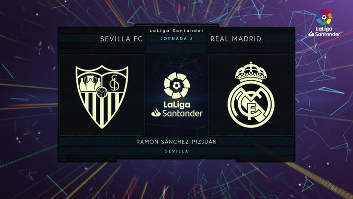 LaLiga (J5): Resumen y gol del Sevilla 0-1 Real Madrid