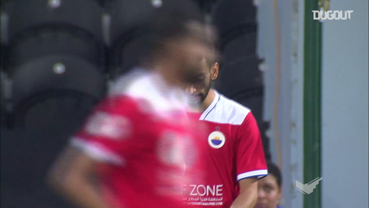 Ahmed Al Attas' pinpoint assists vs Sharjah