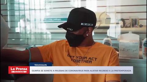 Olimpia se somete a pruebas de coronavirus para alistar regreso a la pretemporada