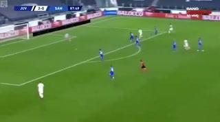 Cristiano Ronaldo sentencia el juego ante al Sampdoria al marcar el 3-0