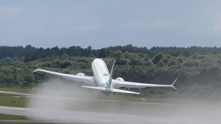 Flyskrekk? En slik takeoff vil man helst ikke oppleve