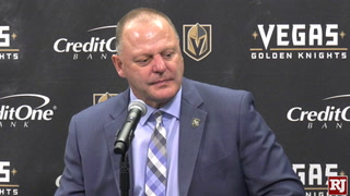 Gerard Gallant Goes Over The Loss Against Oilers