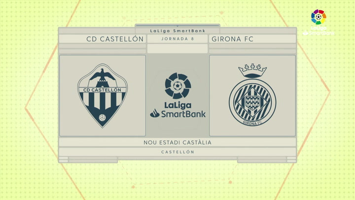 LaLiga SmartBank (J8): Resumen y gol del Castellón 0-1 Girona